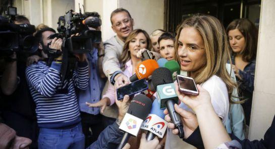 La exsecretaria de Administraciones Públicas del PSOE, Susana Sumelzo
