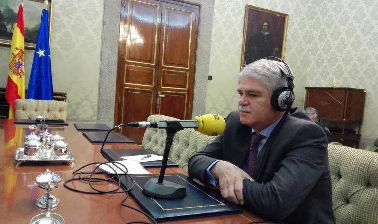 El ministro ha analizado los resultados de las elecciones de EEUU desde el Ministerio
