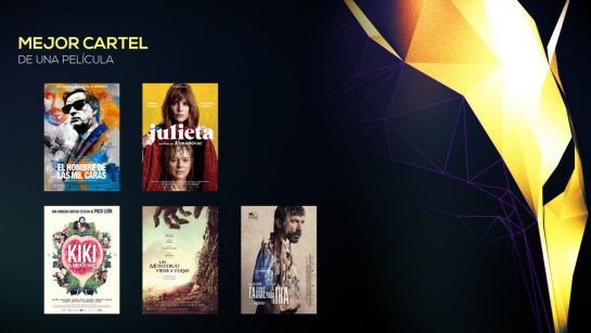 FEROZ NOMINADOS: 'El hombre de las mil caras' y 'Julieta', las más nominadas en los Premios Feroz