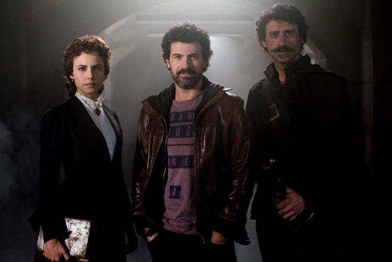 Los protagonistas de 'El Ministerio del Tiempo', la serie con más nominaciones en los premios Feroz