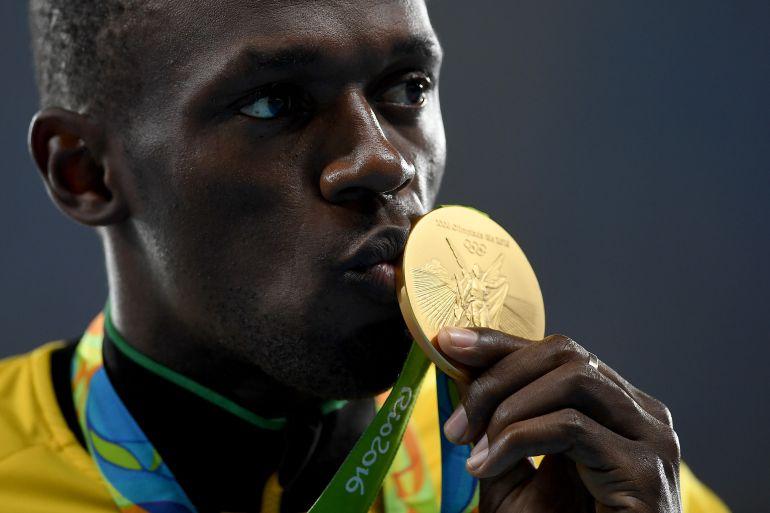 La novena medalla de Bolt en unos Juegos