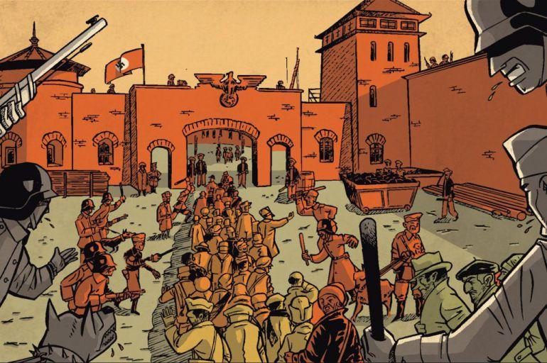 Imagen del cómic 'Esperaré siempre tu regreso' de Jordi Peidró