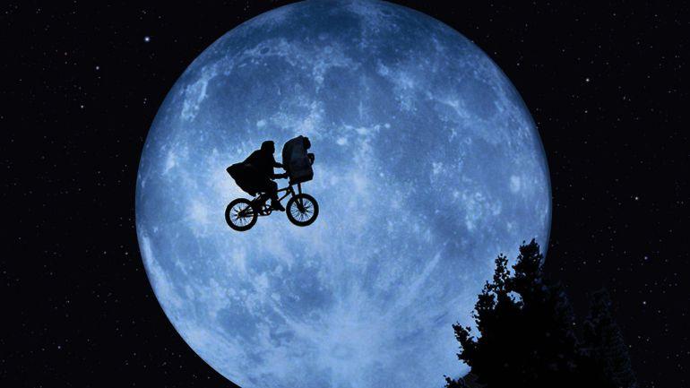 Fotograma de E. T. de Spielberg