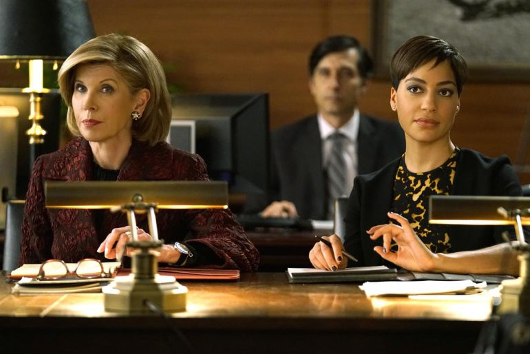 Christine Baranski y Cush Jumbo, las actrices protagonistas de 'The Good Fight'