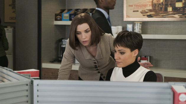 Lucca Quinn, junto a Alicia Florrick en 'The Good Wife'