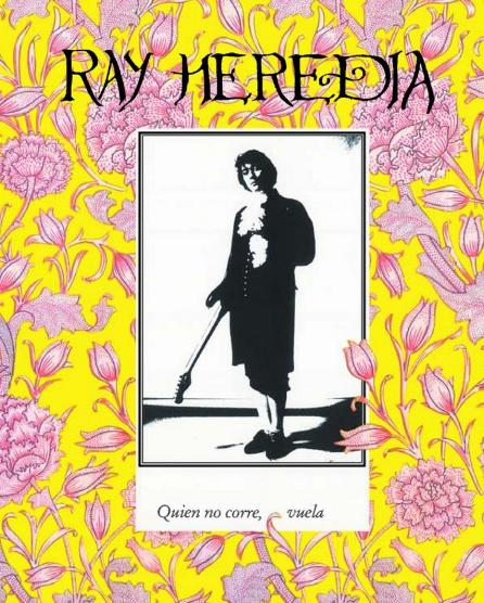 Portada del disco de debut de Ray Heredia en 1991