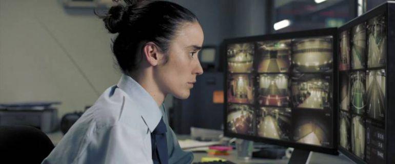 La bailarina y actriz Lali Ayguadé, en un fotograma de 'Timecode'.