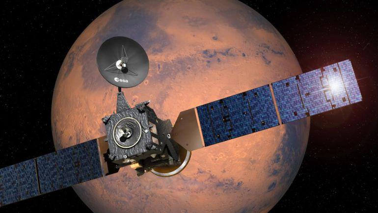 La misión ExoMars es una misión conjunta entre la ESA y Roscosmos, la agencia espacial rusa, e incluye un Orbitador marciano.