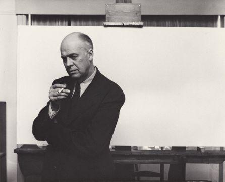 Arnold Newman, retrato de Edward Hopper, 1941.