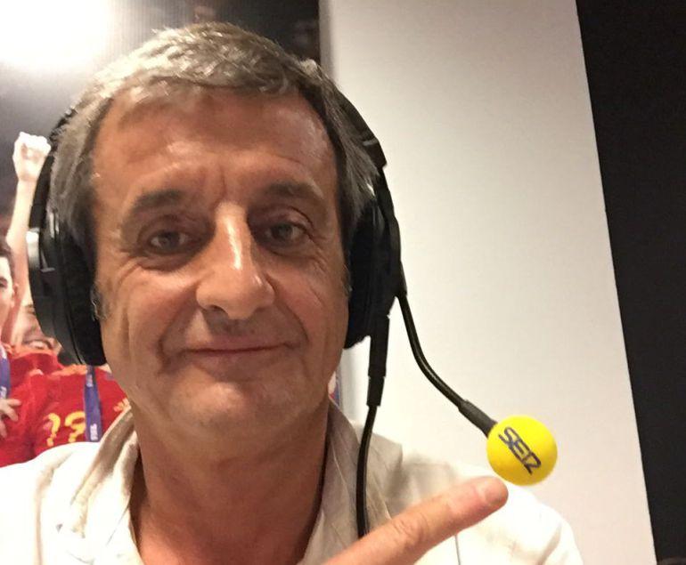 """Luis Moya: """"Soy bastante buen copiloto, siempre y cuando no quieran darme una exhibición"""""""