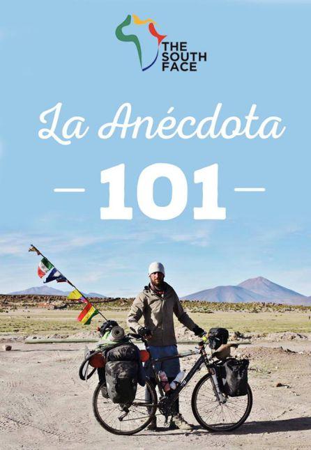 'La anécdota 101': 65.000 kilómetros en bicicleta alrededor del mundo