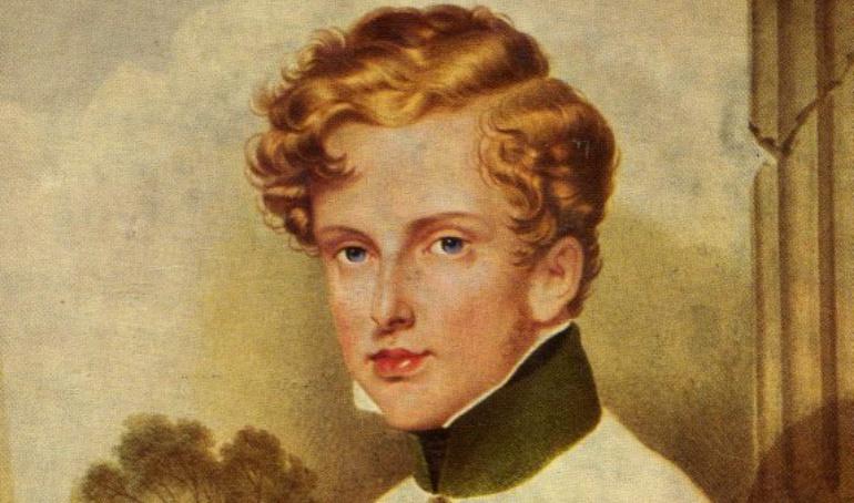 Retrato de Napoleón II.