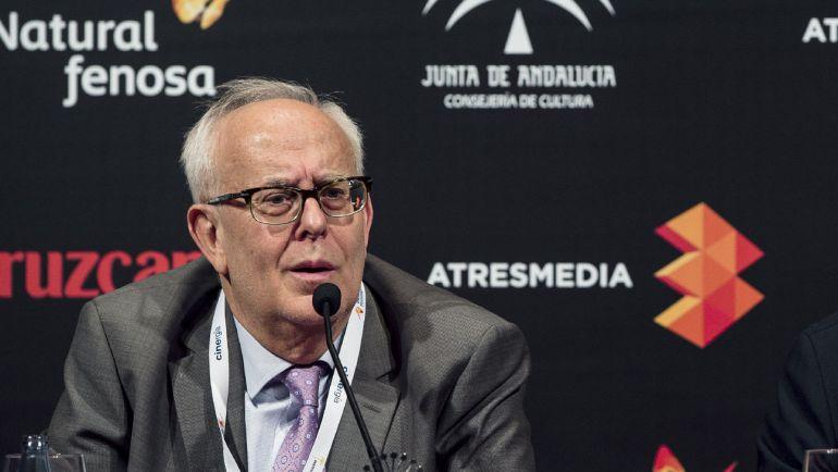 El presidente de la Federación de Asociaciones de Productores Audiovisuales Españoles (FAPAE) Ramón Colom.
