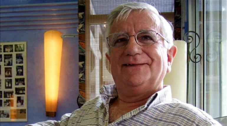 El periodista Tomás Alcoverro en una imagen de archivo.