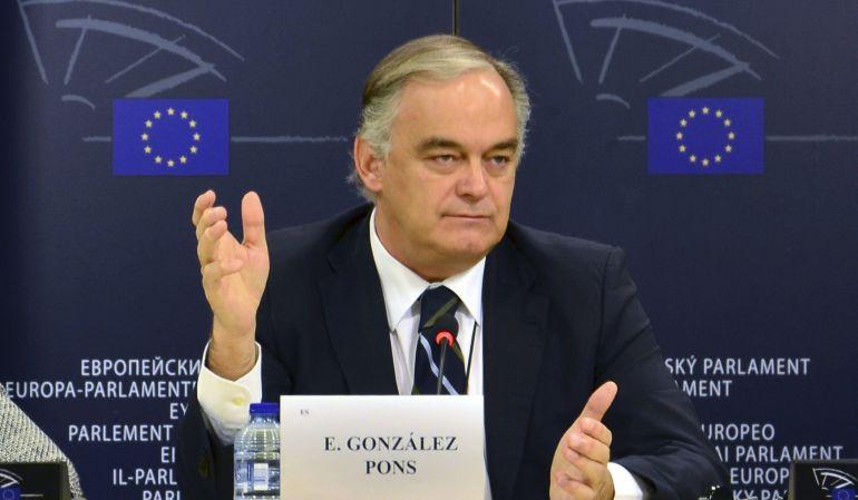 """González Pons: """"Reino Unido no puede obtener ventajas por salir de la UE"""""""