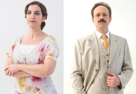 Llum Barrera y Patxi Freytez como Doña Dolores y Don Luis.