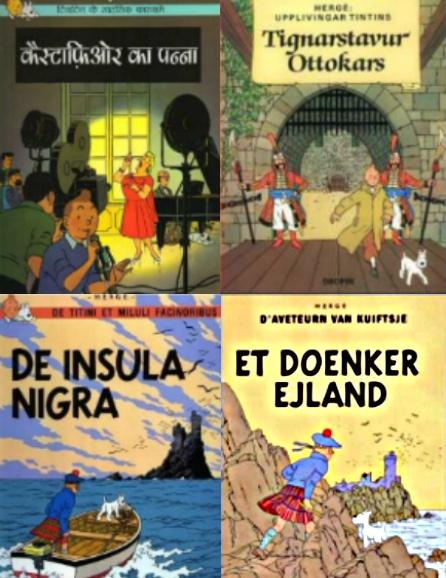 El tintinólogo que tiene álbumes de 'Tintín' en todos los idiomas en los que se ha publicado