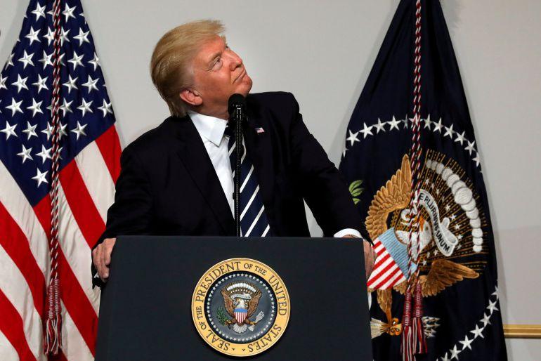 Donald Trump amenaza ahora con atacar con el cuñado de todas las bombas