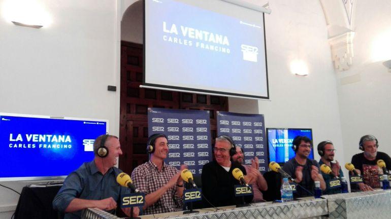 Imagen del programa La Ventana en la sección Todo por la Radio durante la emisión en directo desde Córdoba