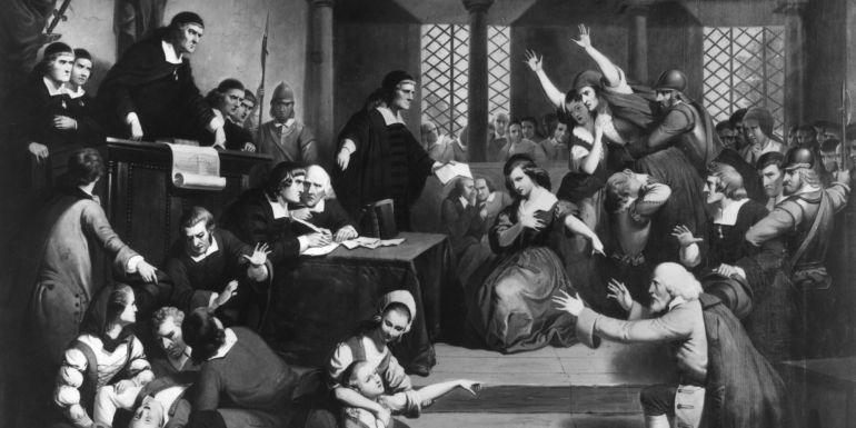 'El juicio de George Jacobs en Salem, 1692'
