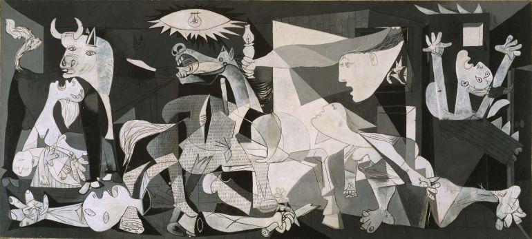 'El Guernica'. Pablo Picasso, 1937. Museo Nacional Centro de Arte Reina Sofía