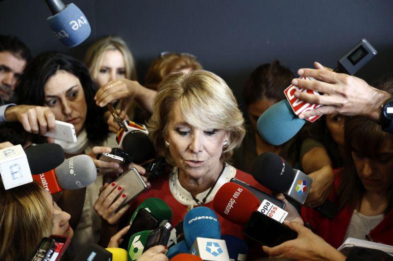 Rajoy delega en Esperanza Aguirre la dimisión por corrupción