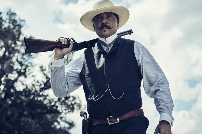 El actor español Carlos Bardem interpreta al patrón mexicano Pedro García en la serie 'The Son'