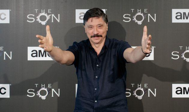 El actor español Carlos Bardem, en la presentación de 'The Son'