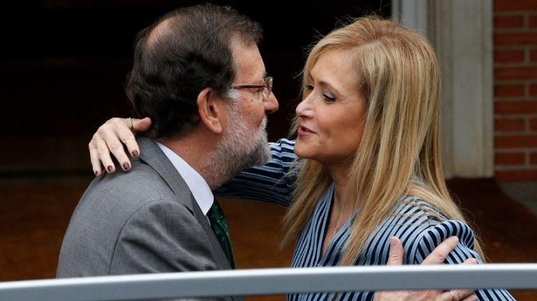 Cifuentes + Rajoy: el tiempo de los corruptos fue ejemplo de gestión