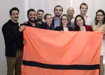 Hemos creado una bandera que representa a los 65 millones de personas desplazadas