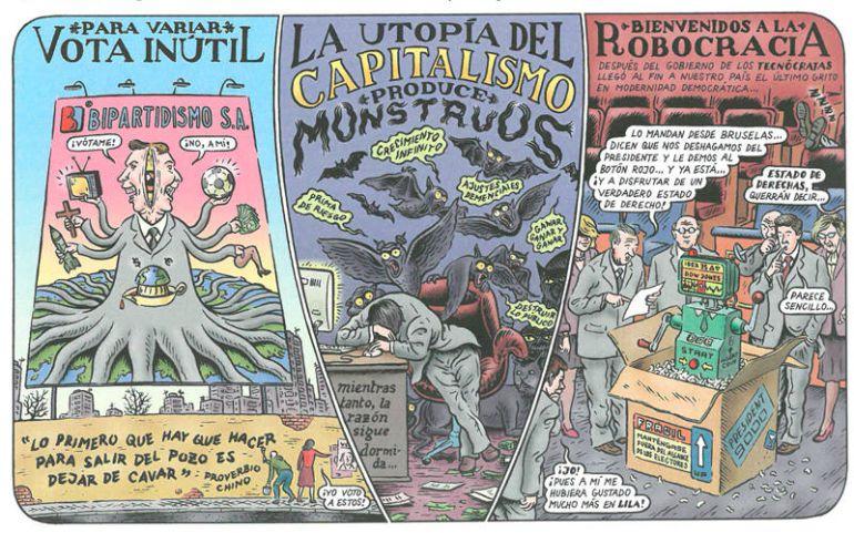 """""""La gran aventura humana"""" de Miguel Brieva"""