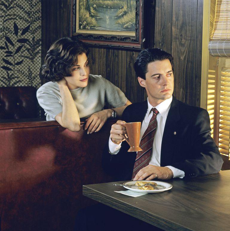 Audrey Horne y el agente Dale Cooper