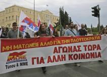 En Grecia no hay cambio real ni esperanza