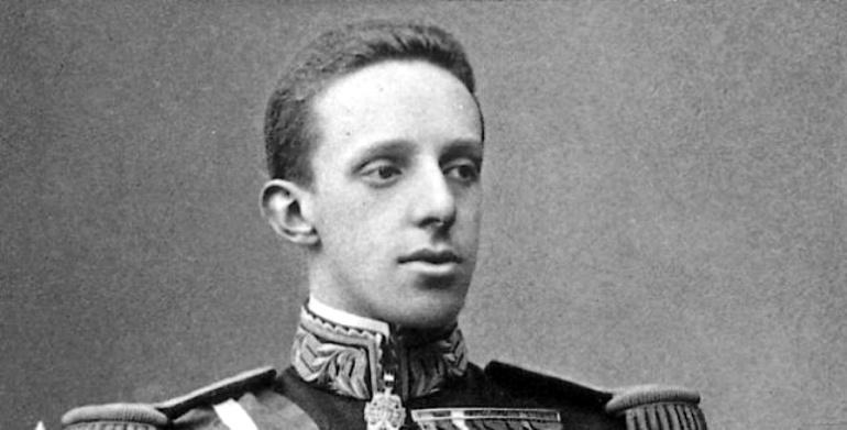 Fotografía del rey Alfonso XIII.