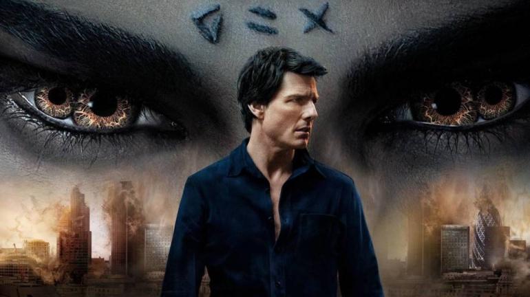 Imagen del cartel promocional de 'La momia', protagonizada por Tom Cruise.