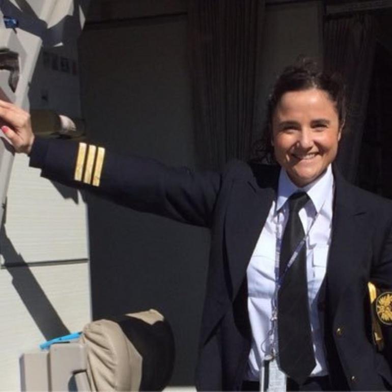 Vanesa de Velasco, responsable de la Plataforma Aviadoras