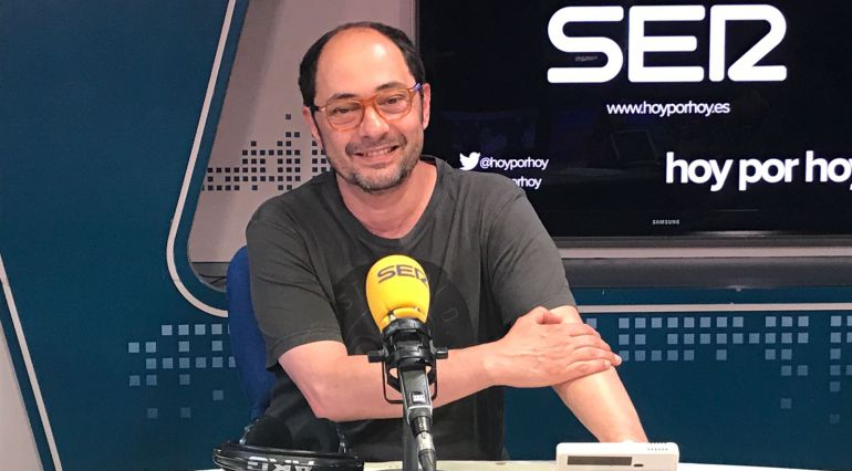 El actor, Jordi Sánchez, presenta 'Señor, dame paciencia', en 'Hoy por hoy' con Gemma Nierga