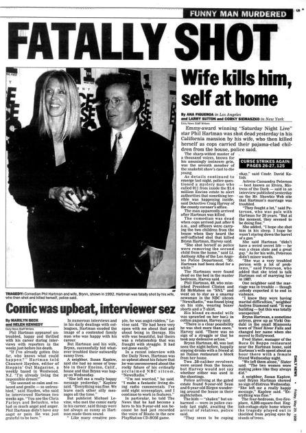El asesinato de Phil Hartman