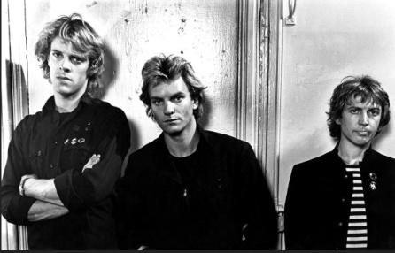 The Police en una fotografía promocional a finales de los 70
