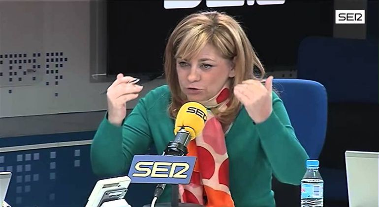 La socialista Elena Valenciano, vicepresidenta de la Eurocámara.