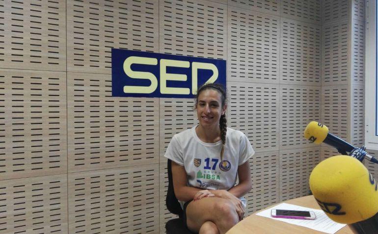 Omaira Perdomo durante su entrevista en la Cadena SER.