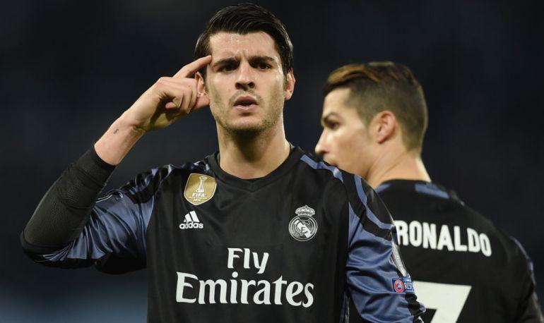 Álvaro Morata, jugador del Real Madrid