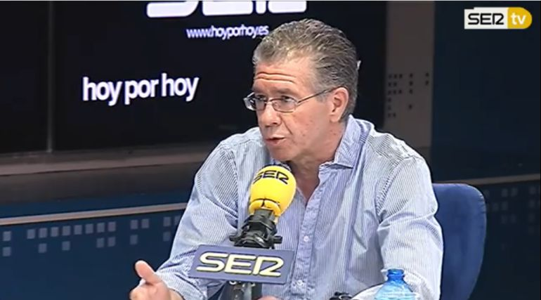 Francisco Granados en la entrevista de este jueves en 'Hoy por hoy' con Pepa Bueno.