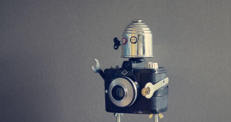 Un robot preparándose para dominar el mundo (probablemente).