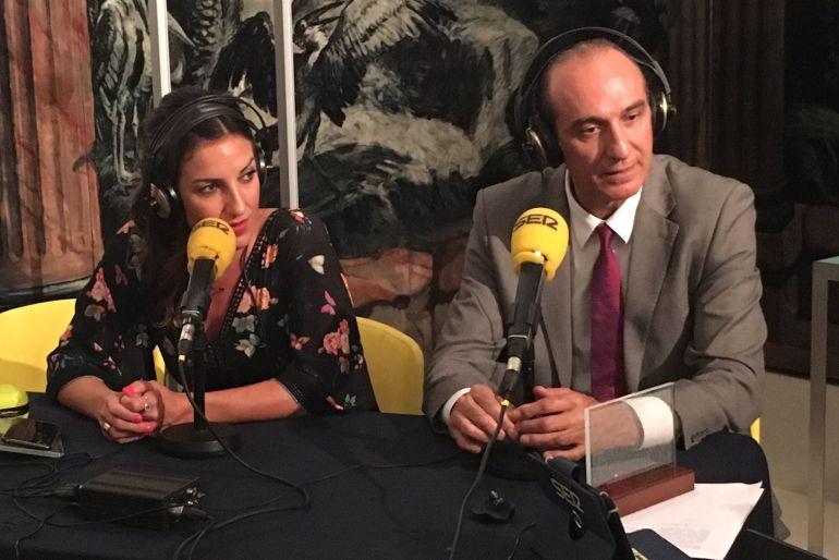 Eli Pinedo y Epi, en 'El Larguero' especial sobre Barcelona '92.