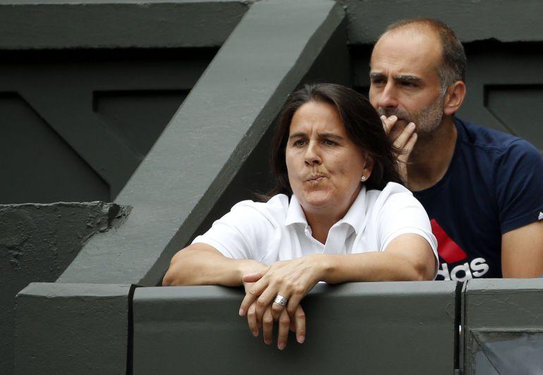 Conchita Martínez.