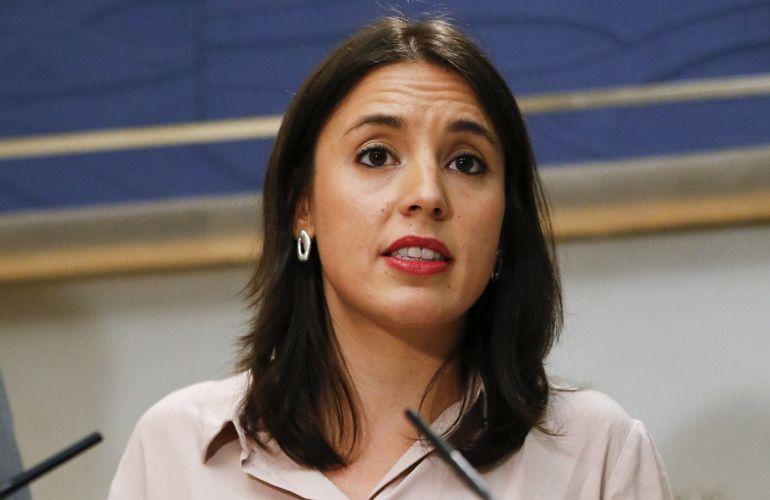 """Irene Montero: """"No hemos tenido noticia de la consulta de Podem sobre el referéndum"""""""