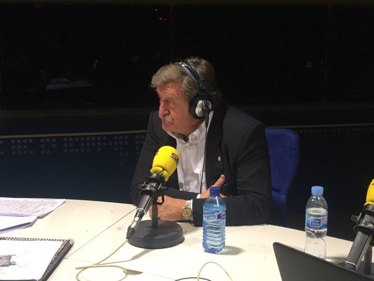 Juan Luis Larrea en 'El Larguero'