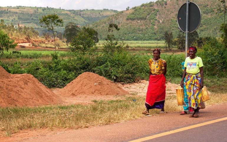 Las mujeres ruandesas