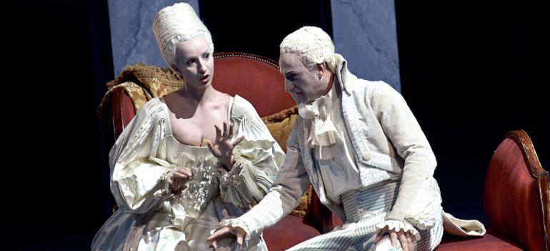Imagen de la ópera 'Las bodas de Fígaro' de W.A.Mozart.